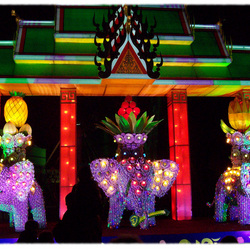 Kleurrijk China Light
