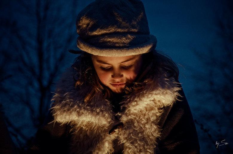 Levende Kerststal (2012) - Voor fotowedstrijd: Warmte
