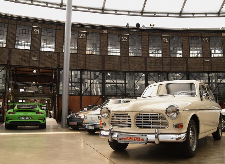Classic Remise, Volvo Amazon - Klassieke auto's bij Classic Remise in Düsseldorf.