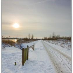 Snowy Road II
