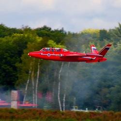 Vliegtuig Fouga Magister