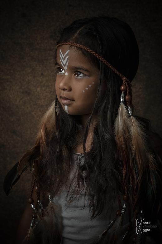 Indianenmeisje - Indianenmeisje