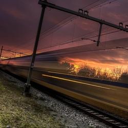 Temporarily Transparent Train