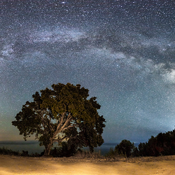The Milky Way from Corsica