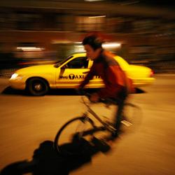 Bewerking: Roelant Siekman - 5 - Fiets/Taxi in New York