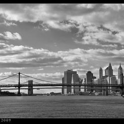 Kijk op Two Bridges (NY)