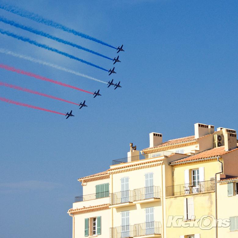 Saint-Tropez - vliegshow in Saint-Tropez