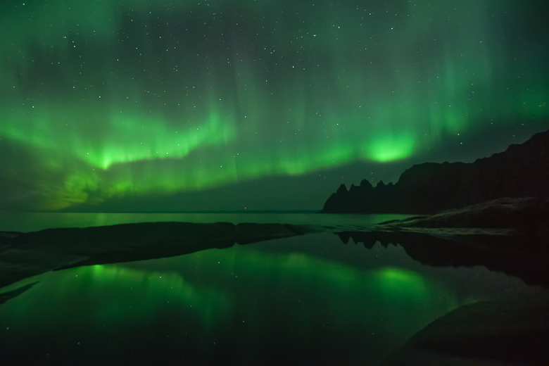 Aurora.... - Altijd een sensatie als dit op je reis voorbijkomt........