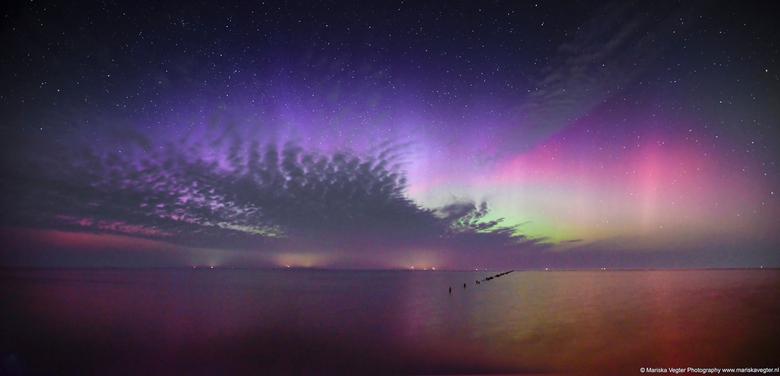 panorama Noorderlicht in Nederland