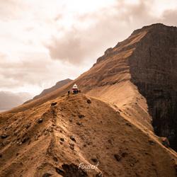 Vuurtoren op de Faeröer Eilanden
