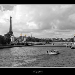 zicht over de Seine