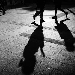 Dansende schaduw