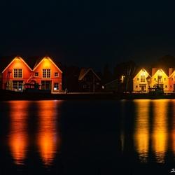 Zoutkamp bij nacht