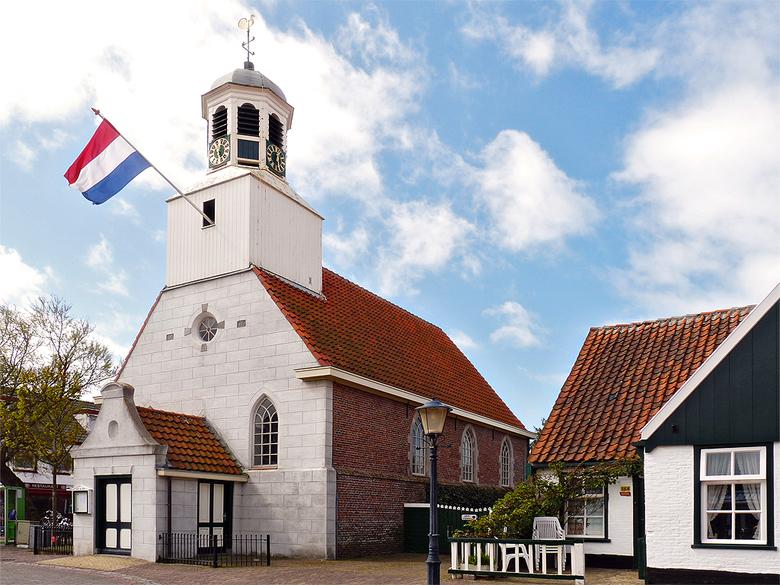 Kerk de Koog Texel - Foto van de kerk in De Koog op Texel.