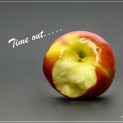 Time out....