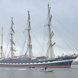 Russisch schip Delfsail