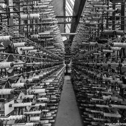 Textile factory B/W