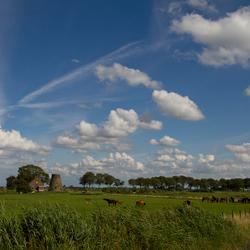 Brabantse lucht boven de Schuddebeurs, Lage Zwaluwe