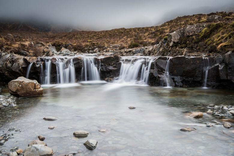 Fairy Pools (Isle of Skye, Scotland) - Één van de vele Fairy Pool watervalletjes op de Isle of Skye in Schotland.