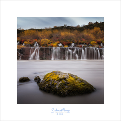 Hraunfossar in the Fall