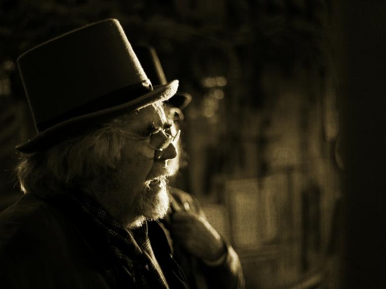 Zanger Dickens festival 2