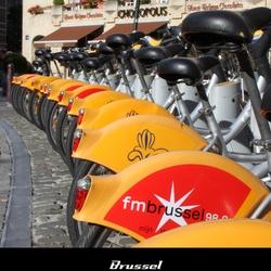 Brussel - Yellow bikes