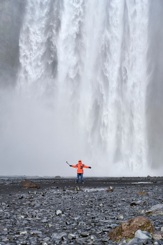Skogafoss Waterval Iceland - Waterval Skogafoss - Iceland