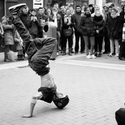 Breakdancer in Dublin