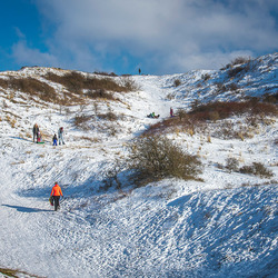 Winter in the Dutch Mountains