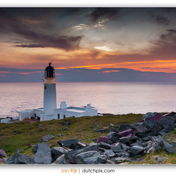 Rua Reidh Lighthouse, Gairloch, Scotland.