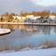 Winter bij het kanaal