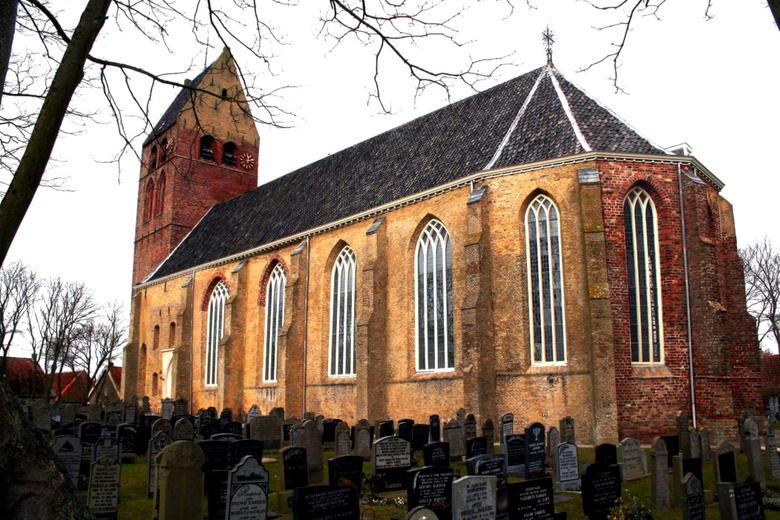 Nederland Hollum - Hollum is een dorp op het Nederlandse waddeneiland Ameland in de provincie Friesland.<br /> Hollum ligt aan de Borndiep en is daar