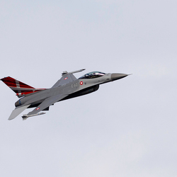 F 16 Demo Denemarken