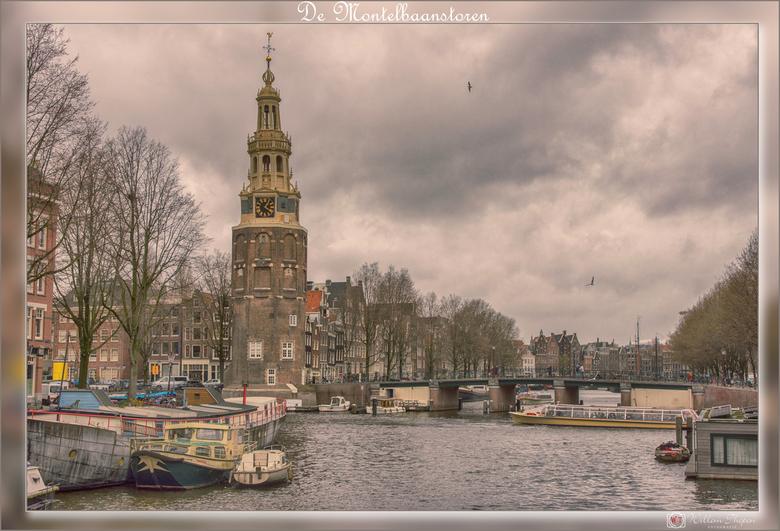 De Montelbaanstoren - De Montelbaanstoren is een Amsterdamse toren uit 1516 aan de Oudeschans.
