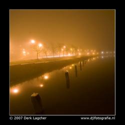 Oude IJssel by night