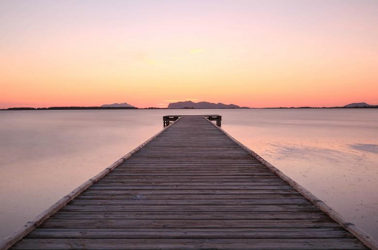 Simple sweet Sicilian sunset