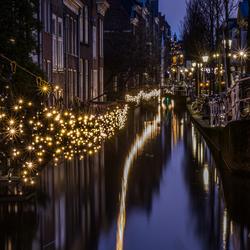 Blauw uurtje in Delft