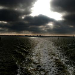 Harlingen vanaf de boot