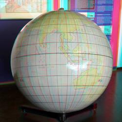 Wereldbol Scheepswerf De Delft Rotterdam 3D