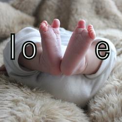 love, voeten, newborn