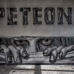 Grafitti van Peteone