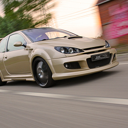 Peugeot 206RC on the road