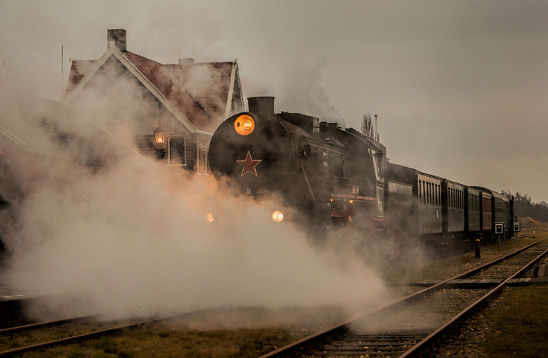 Train is Steaming... - De Museumspoortrein S.T.A.R in Stadskanaal.