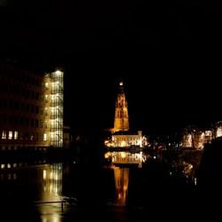 Grote Kerk Breda by night