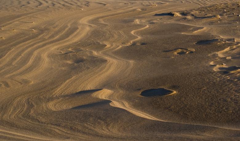 maanlandschap aan zee - ..