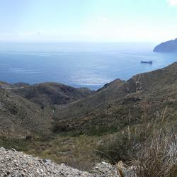 Baai ten westen van Cartagena