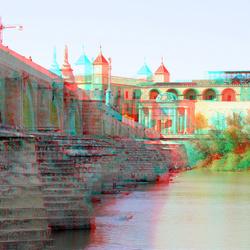 Puento Romano Cordoba Spain 3D