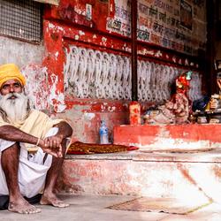 Monnik in India