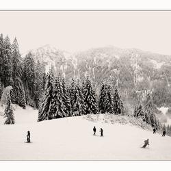 Laatste sneeuwfoto