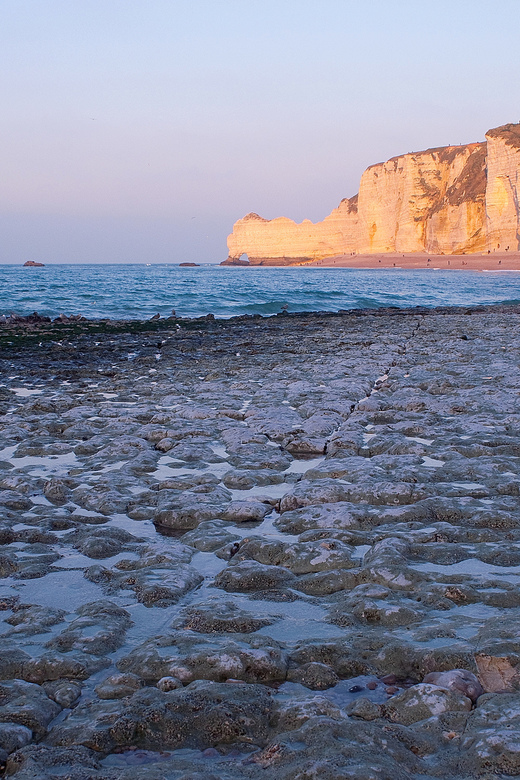 Rots - Rots aan de kust in Normandië